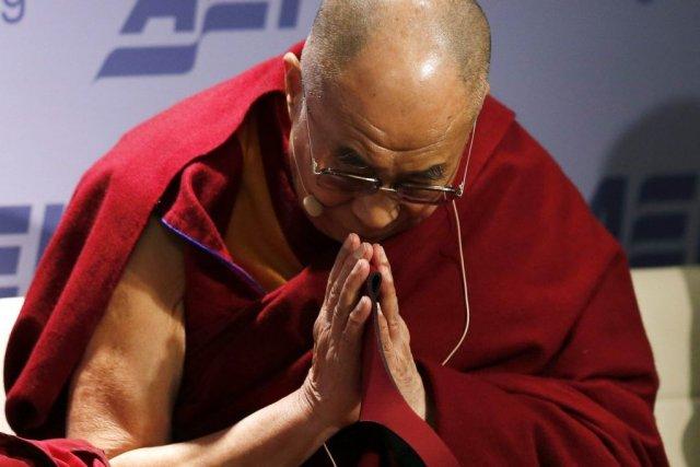 Le dalaï-lama est en visite à Washington pourun... (PHOTO GARY CAMERON, REUTERS)