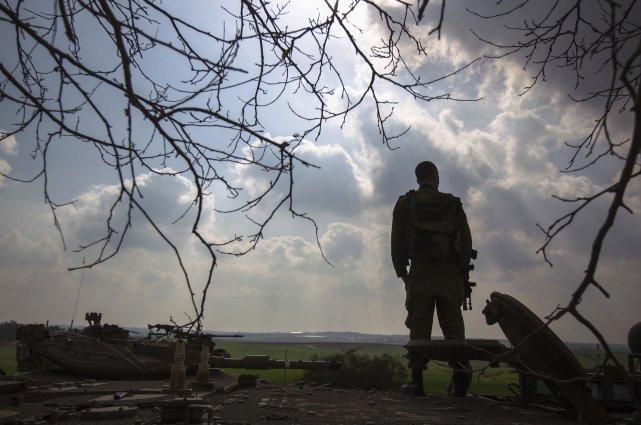 La présence, ou non, de soldats israéliens le... (Photo Amir Cohen, archives Reuters)