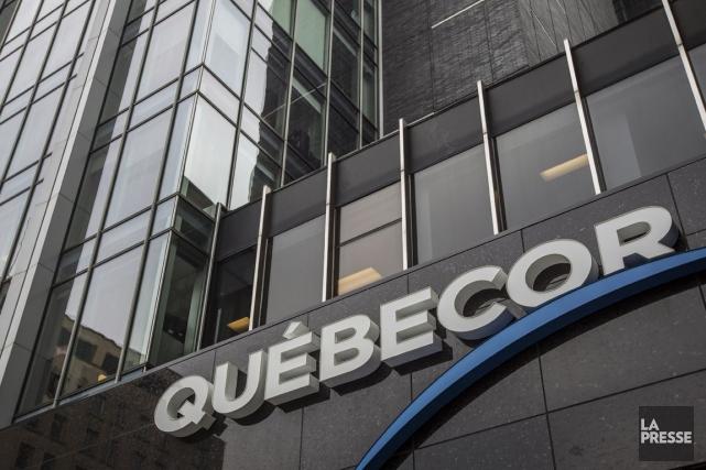 Les revenus du géant québécois des communications Québecor... (PHOTO OLIVIER PONTBRIAND, ARCHIVES LA PRESSE)