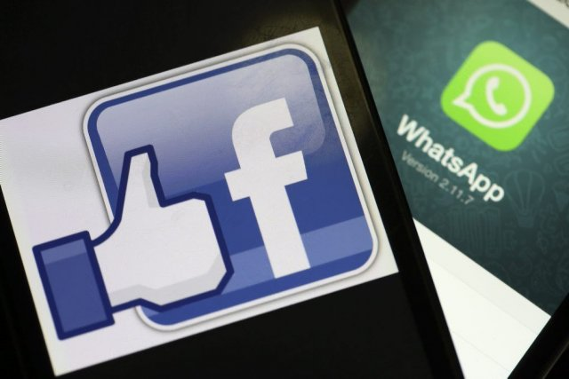 Facebook a versé19 milliards de dollars pour acheterWhatsApp.... (PHOTO BLOOMBERG)