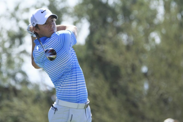 Rory McIlroy a été victime de l'Américain Harris... (Photo Allan Henry, USA Today Sports)