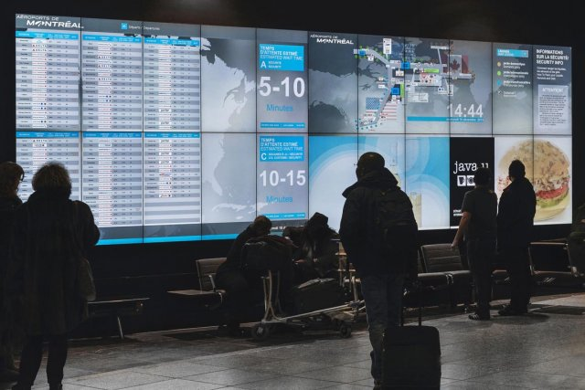 «L'aéroport fait partie du voyage. Les gens veulent... (PHOTO FOURNIE PAR AÉROPORTS DE MONTRÉAL)