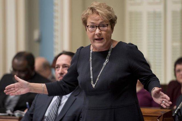 La première ministre Pauline Marois a répondu aux... (Photo: La Presse Canadienne)