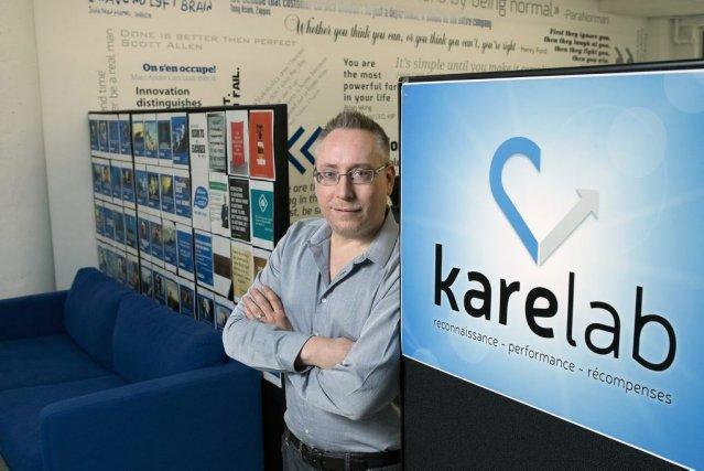Marc-André Lanciault, président et cofondateur de la firme... (PHOTO ROBERT SKINNER, LA PRESSE)