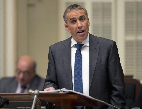 Le ministre des Finances Nicolas Marceau.... (PHOTO REUTERS)