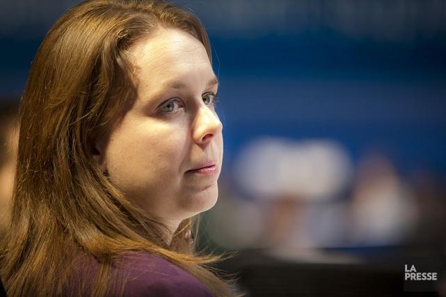 Sur sa page Facebook, Martine Desjardins, chroniqueuse dans... (Photo Olivier Pontbriand, archives La Presse)