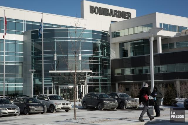 L'usineBombardier de Montréal.... (PHOTO MATHIEU WADDELL, LA PRESSE)