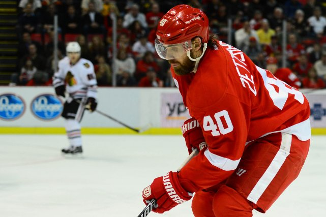 Henrik Zetterberg a été opéré au dos le... (Photo Andrew Weber, USA Today)