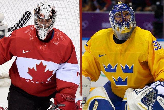 Carey Price et Henrik Lundqvist... (Photos PC et Reuters)