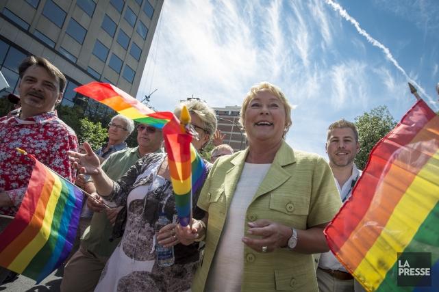 Au Québec, les gais et lesbiennes reçoivent l'appui... (PHOTO OLIVIER PONTBRIAND, archives LA PRESSE)