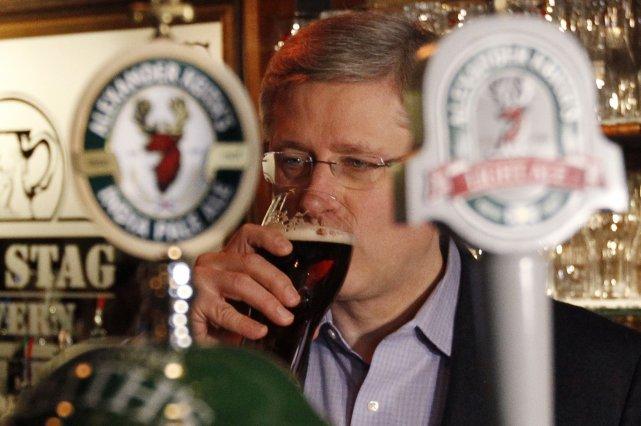 Le premier ministre canadien Stephen Harper s'est fait un malin plaisir de... (Photo Reuters)