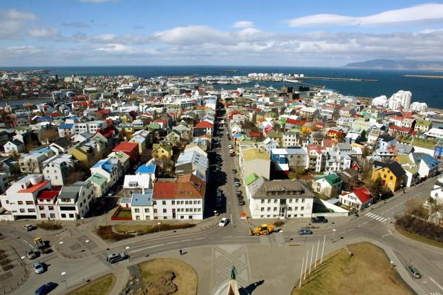 Vue sur la capitale de l'Islande Reykjavik... (AFP, Odd Andersen)