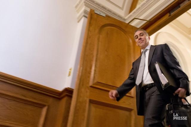 Le ministre des Finances, Nicolas Marceau... (Photo Ivanoh Demers, archives La Presse)