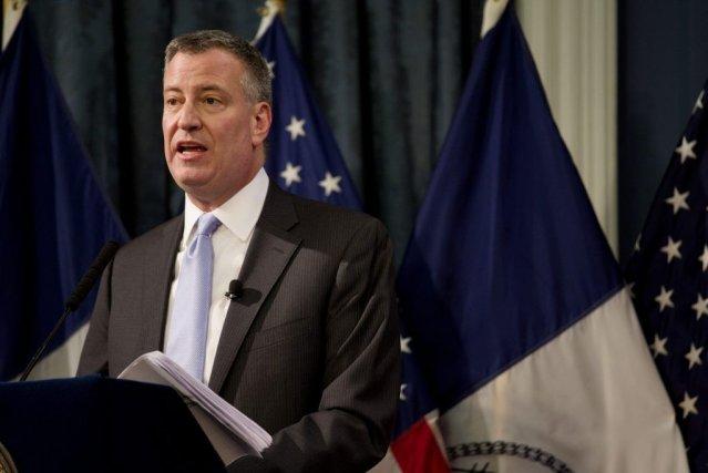 Le maire de New York, Bill de Blasio, a été questionné de nouveau vendredi à... (Photo Reuters)