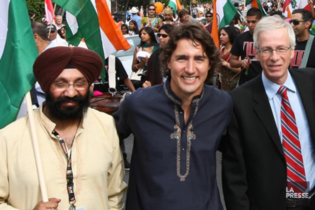 Daljit Singh Kalkat, ex-président de l'India Canada Organization,... (Photo archives La Presse)