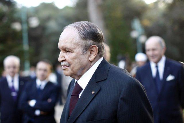 Le président Abdelaziz Bouteflika, 77 ans, n'a pas... (PHOTO DENIS ALLARD, ARCHIVES AFP)
