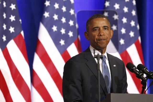 Le président américain Barack Obama.... (PHOTO KEVIN LAMARQUE, ARCHIVES REUTERS)