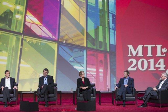 De gauche à droite: le premier ministre de... (Photo Graham Hughes, PC)