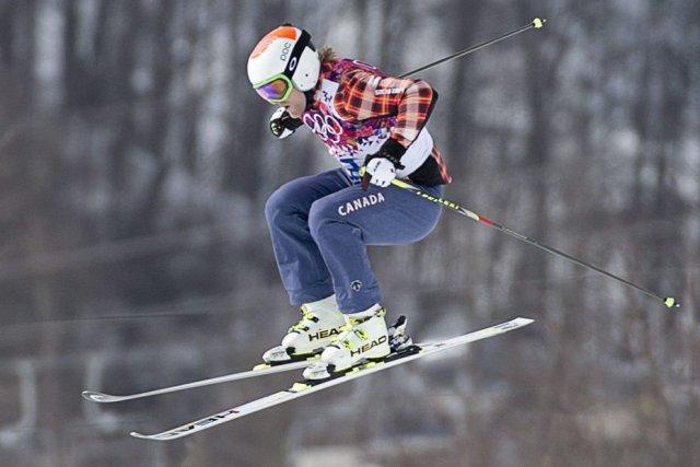 Le Canadien Brady Leman a terminé quatrième à... (PHOTO JONATHAN HAYWARD, PC)