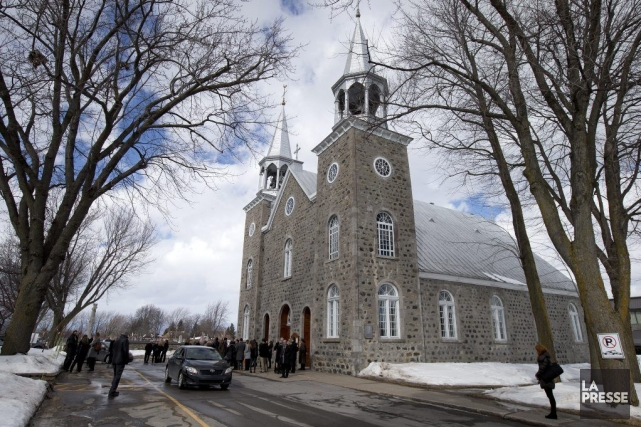 Les funérailles ont été célébrées samedi, à Repentigny.... (PHOTO ROBERT SKINNER, LA PRESSE)