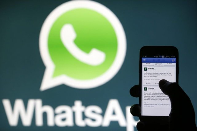 WhatsApp n'a pas indiqué quand la panne a... (PHOTO DADO RUVIC, REUTERS)