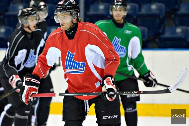 Mikhail Grigorenko a perdu ses deux ailiers lors... (Photothèque Le Soleil, Pascal Ratthé)