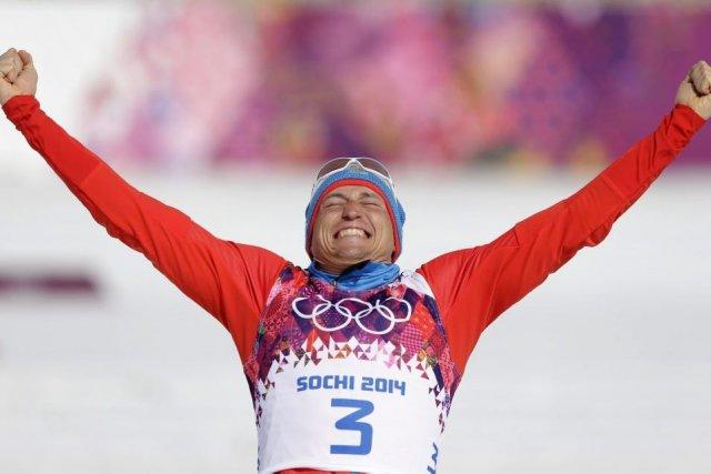 Alexander Legkov a mérité la médaille d'or.... (Photo Matthias Schrader, AP)