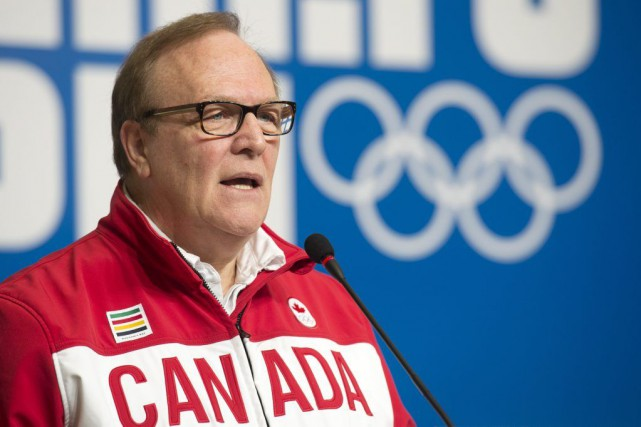 Le président du Comité olympique canadien, Marcel Aubut.... (Photo archives La Presse Canadienne)