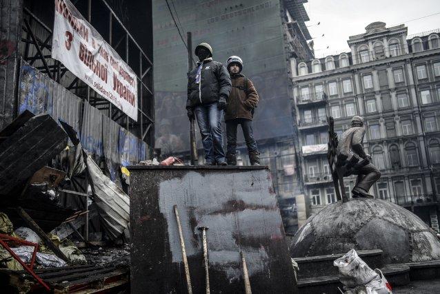 Si l'extrême tension des derniers jours est retombée,... (Photo BULENT KILIC, AFP)
