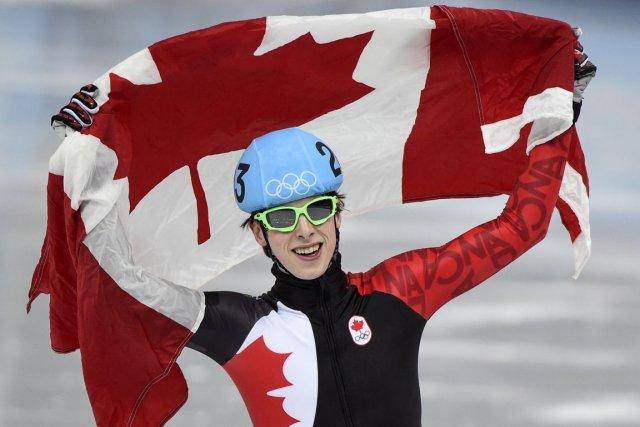 Le patineur québécois Charle Cournoyer a remporté le... (Photo Paul Chiasson, PC)
