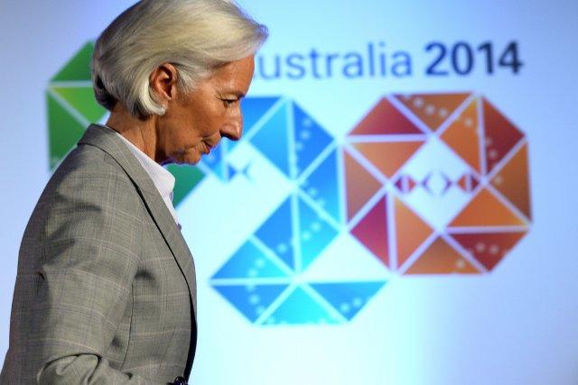 Pour la directrice générale du Fonds monétaire international... (Photo SAEED KHAN, AFP)