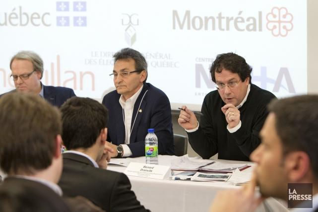 Le chef de Projet Montréal, Richard Bergeron, assure... (PHOTO Robert Skinner, La Presse)
