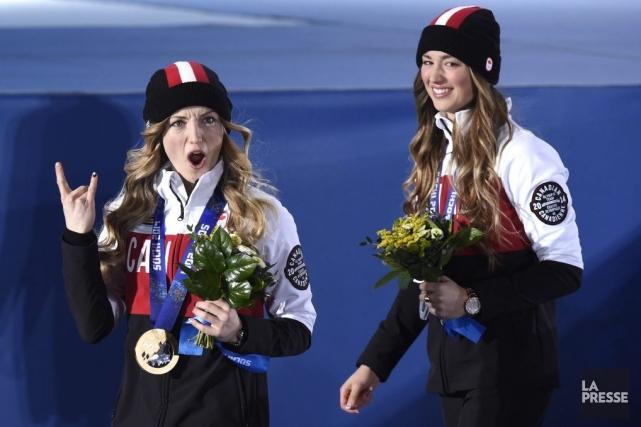 L'équipe canadienne de ski acrobatique a remporté de... (Photo Bernard Brault, La Presse)