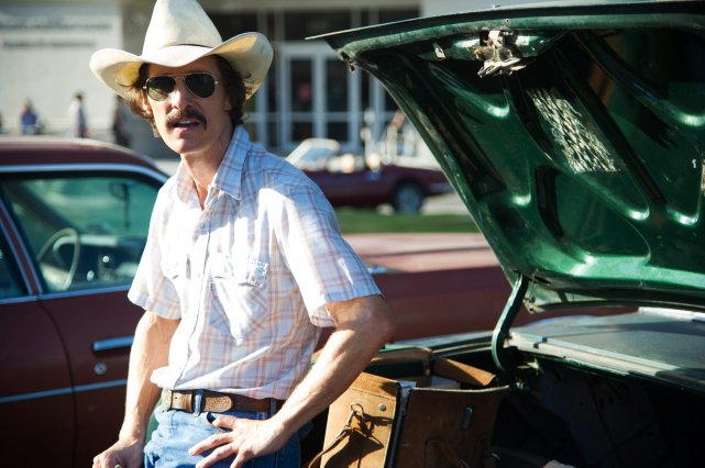 Matthew McConaughey dans le film Dallas Buyers Club de... (AP)