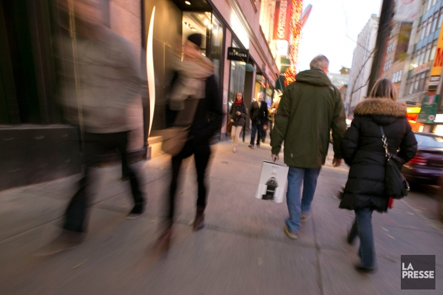 Le rêve canadien n'est rien de plus qu'un mythe et la classe moyenne du pays... (PHOTO ARCHIVES LA PRESSE)