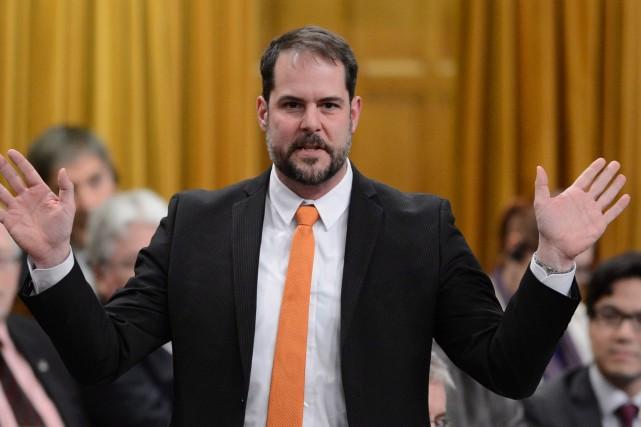 Le porte-parole du NPD en matière de Travail,... (Photo Sean Kilpatrick, PC)