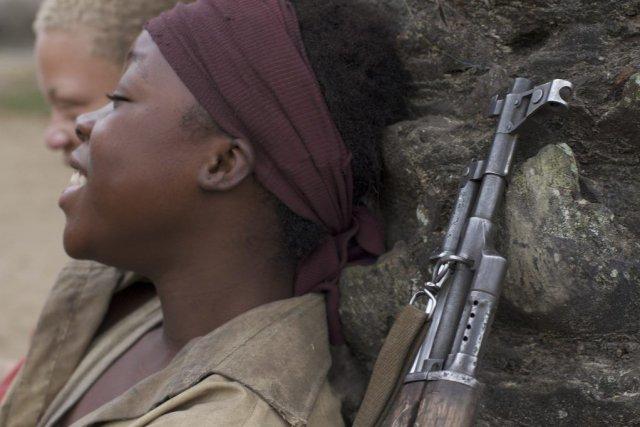 Rebellemet en vedette Rachel Mwanza dans le rôle... (PHOTO FOURNIE PAR MÉTROPOLE FILMS)