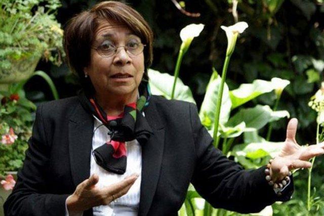 Aida Avella, qui défend les couleurs de l'UP... (PHOTO TIRÉE DE TWITTER)