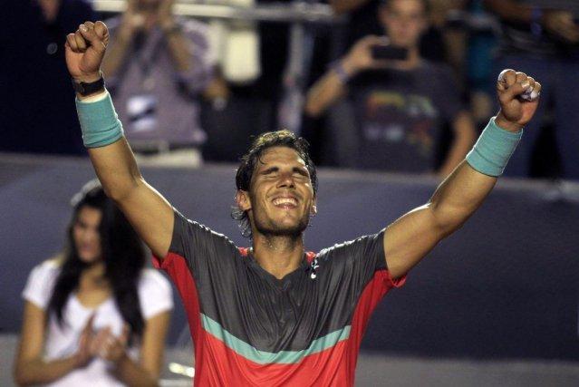 Rafael Nadaln'a pas semblé ressentir les effets de... (PHOTO PILAR OLIVARES, REUTERS)