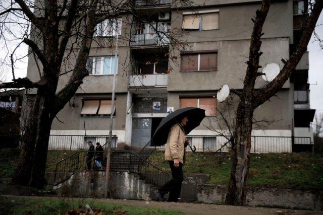 Un Serbe du Kosovo reconnu comme étant un partisan de la ligne dure a été élu... (Photo: AFP)