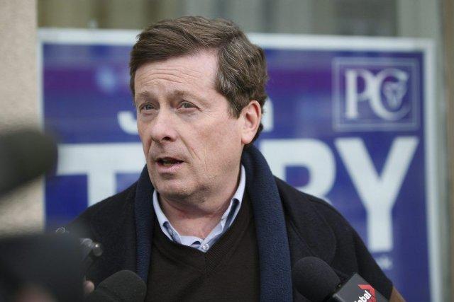 John Tory... (Photo archives La Presse Canadienne)