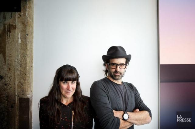 Marie-Hélène Trottier et Jean-Philippe Tardif.... (PHOTO MARCO CAMPANOZZI, LA PRESSE)