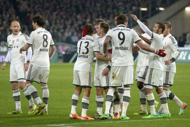 Le Bayern Munich est invaincu à ses 47... (Photo Fabian Bimmer, Reuters)