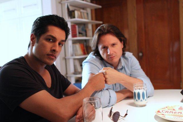 Sugar Sammy et Simon-Olivier Fecteau dans «Ces gars-là»... (Photo fournie par V)