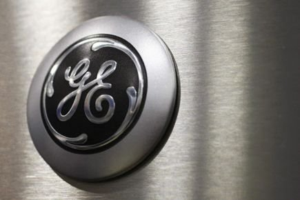 Le logo de General Electric.... (Photo AP)