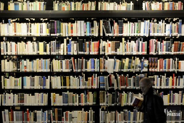 Se rendre à la Grande Bibliothèque de Montréal... (Photo archives La Presse)