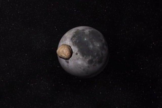 Un astronome espagnol a observé en direct un astéroïde gros comme un... (Image vidéo)
