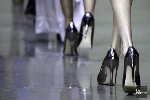 L'édition de février de la Semaine Mode Montréal a peut-être été annulée, mais... (Photo Bernard Brault, La Presse)