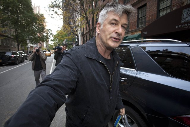 Baldwin, 55 ans, qui habite à Greenwich village... (Photo CARLO ALLEGRI, Reuters)