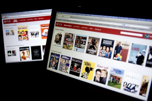 Netflix versera une somme non divulguée afin d'établir... (PHOTO ARCHIVES BLOOMBERG)